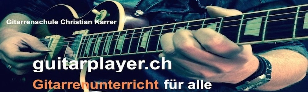 guitarplayer.ch Blog